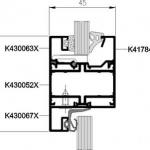 Przekrój MB-45 Office